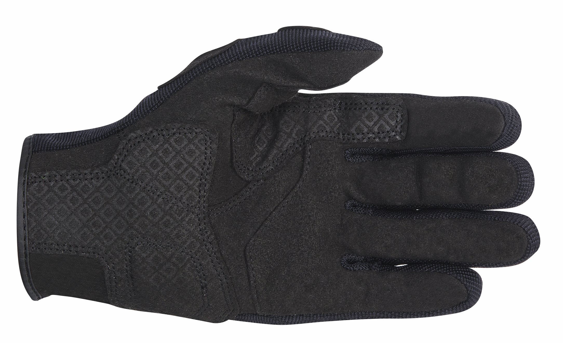 Alpinestars Spartan Men's Street Motorcycle Gloves - Black / Large