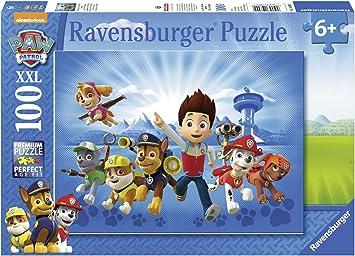 Puzzle XXL de 100 piezas Paw Patrol Patrulla Canina: Amazon.es: Juguetes y juegos