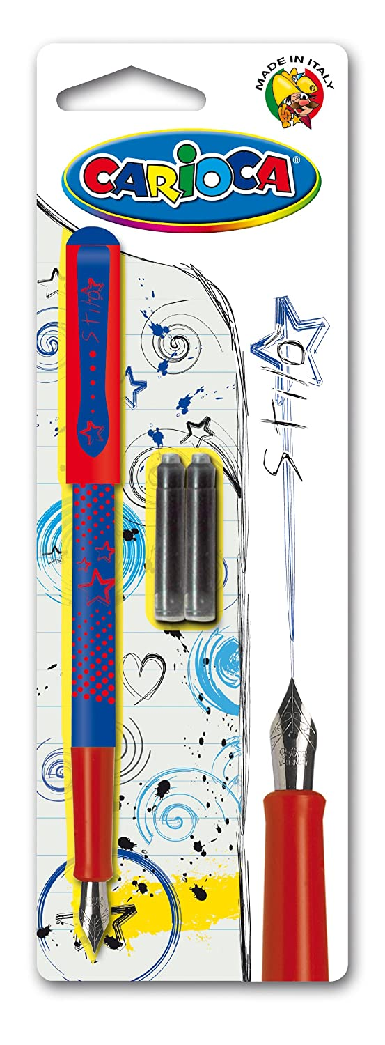 Carioca Fountain Pen Blister with 2 Cartridges 42303