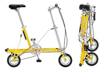 Bicicleta plegable CarryMe SD (sin marchas) amarilla