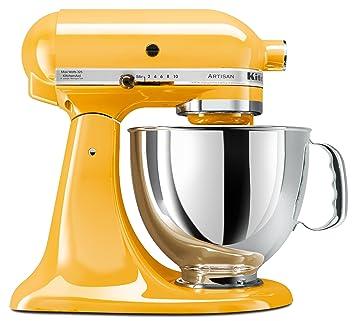 kitchenaid ksm150psbf artisan 5 quart stand mixer buttercup. Interior Design Ideas. Home Design Ideas