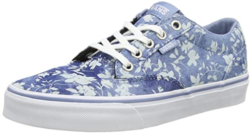 Vans - Winston, Zapatillas Mujer, Azul (Floral/Indigo), 34.5 EU: Amazon.es: Zapatos y complementos