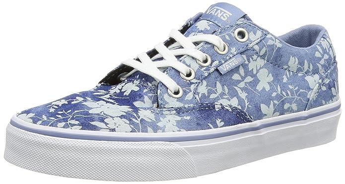 Vans Winston, Sneakers, Damens's Niedrig Top Sneakers, Winston, Blau (Floral Indigo), 2.5 UK ... 56af1a
