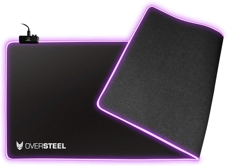 Oversteel Alfombrilla gaming NEBULA tama/ño grande 450 x 350 x 4 mm