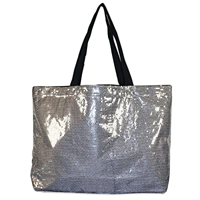 Sequin X Large Tote Bag