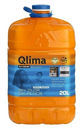 Qlima 8713508708119 20L Combustible líquido accesorio para calentador eléctrico - Accesorios para calentadores eléctricos (Combustible líquido, Multicolor, ...