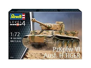 Kit Gmbh revell gmbh 03262 pzkpfw vi ausf h tiger tank model kit 1 72 scale