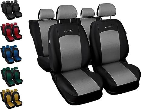 Autositzbezüge Hyundai Tucson Universal Set Grau Sitzbezüge Sitzbezug Autositz