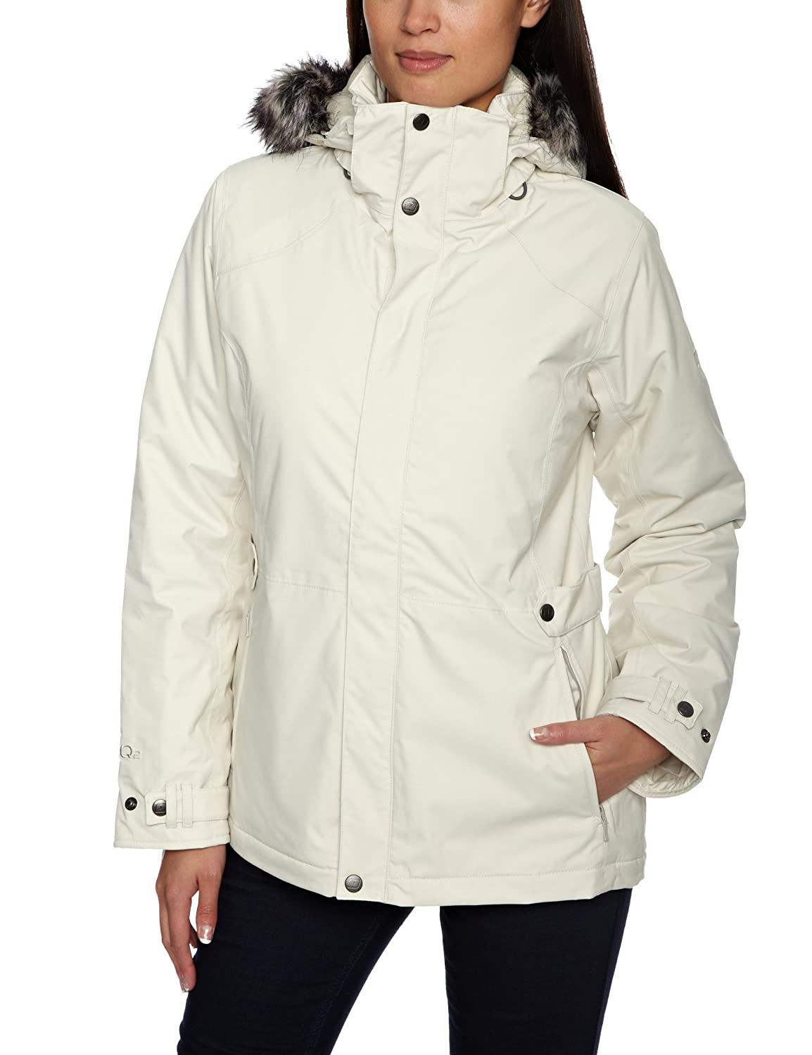 Berghaus Women's Mid Insulated Parka (12, Pale Stone)