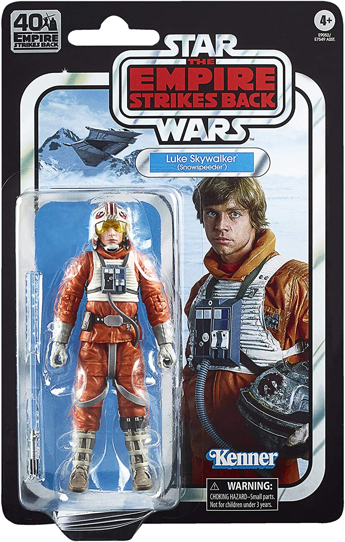 Star Wars The Black Series Luke Skywalker (Snowspeeder) 6-inch Scale The Empire Strikes Back 40TH Anniversary Collectible Figure