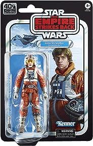 Star Wars The Black Series Luke Skywalker (Snowspeeder) 6-inch Scale The Empire Strikes Back 40TH Anniversary Collectible Fi