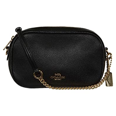 481ba1a657cbf COACH Isla Chain Crossbody  Handbags  Amazon.com