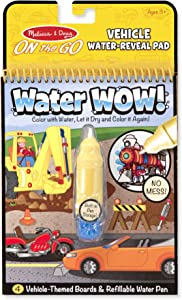 Melissa & Doug Water Wow! Book – Vehicles