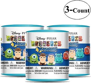 Amazon.com: Latas de figuras Disney/Pixar al azar, 3 latas ...