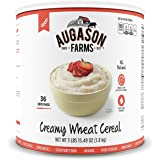 Augason Farms Creamy Wheat Cereal #10 Can
