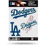 Rico MLB Dodgers Triple Spirit Stickers, Multi, One Size (MSS5601)