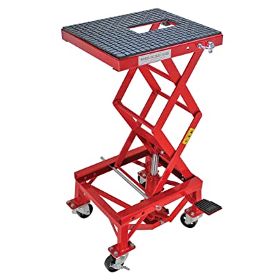 Extreme Max 5001.5083 Hydraulic Motorcycle Lift Table – 300 lb.: Automotive