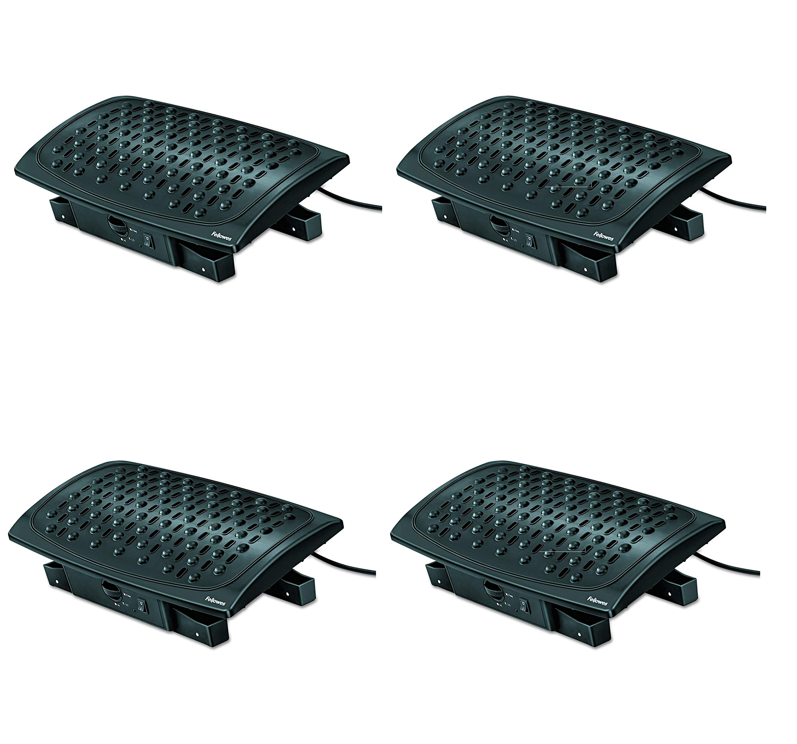 Fellowes Climate Control Footrest (8030901) (Pack of 4)