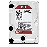 WD Red Desktop WD30EFRX Disque dur interne 3.5'' SATA III IntelliPower Mémoire cache 64Mo 3 To 5400 tours par minute