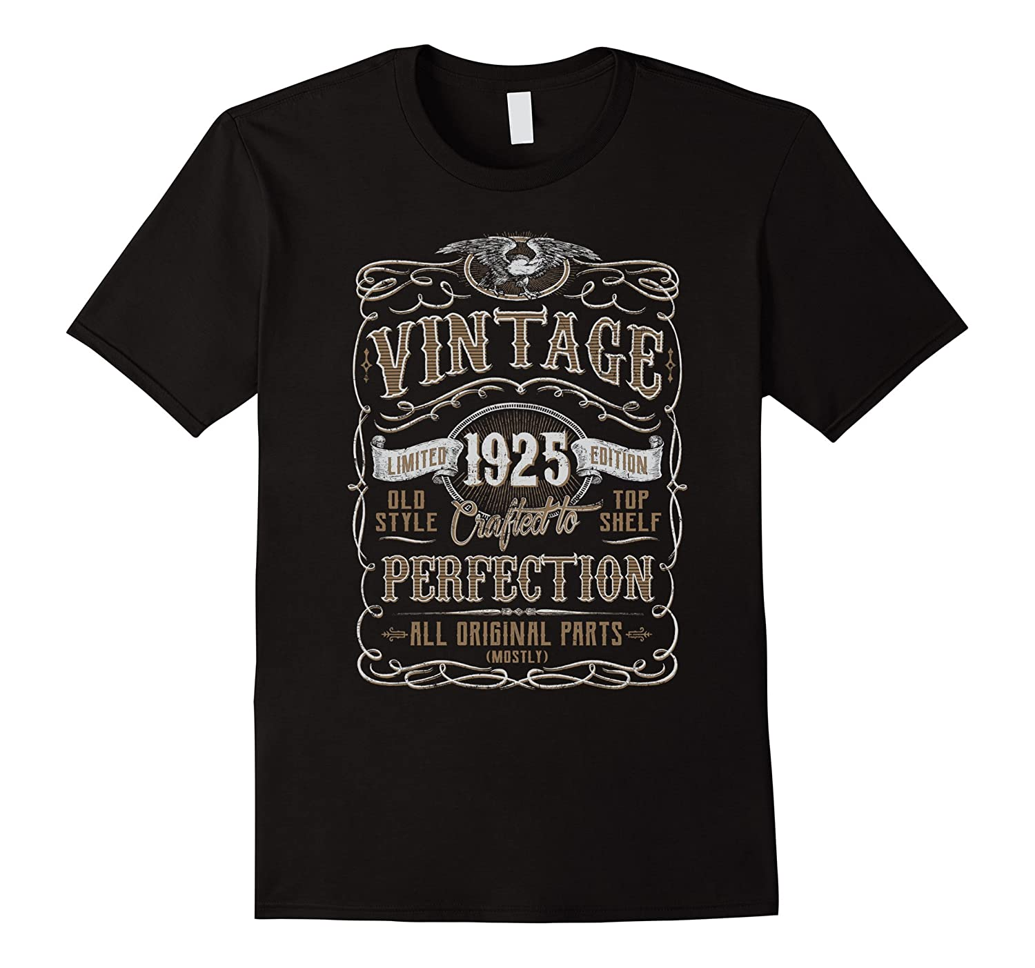 Vintage 1925 Birthday Gift Idea T Shirt-Vaci