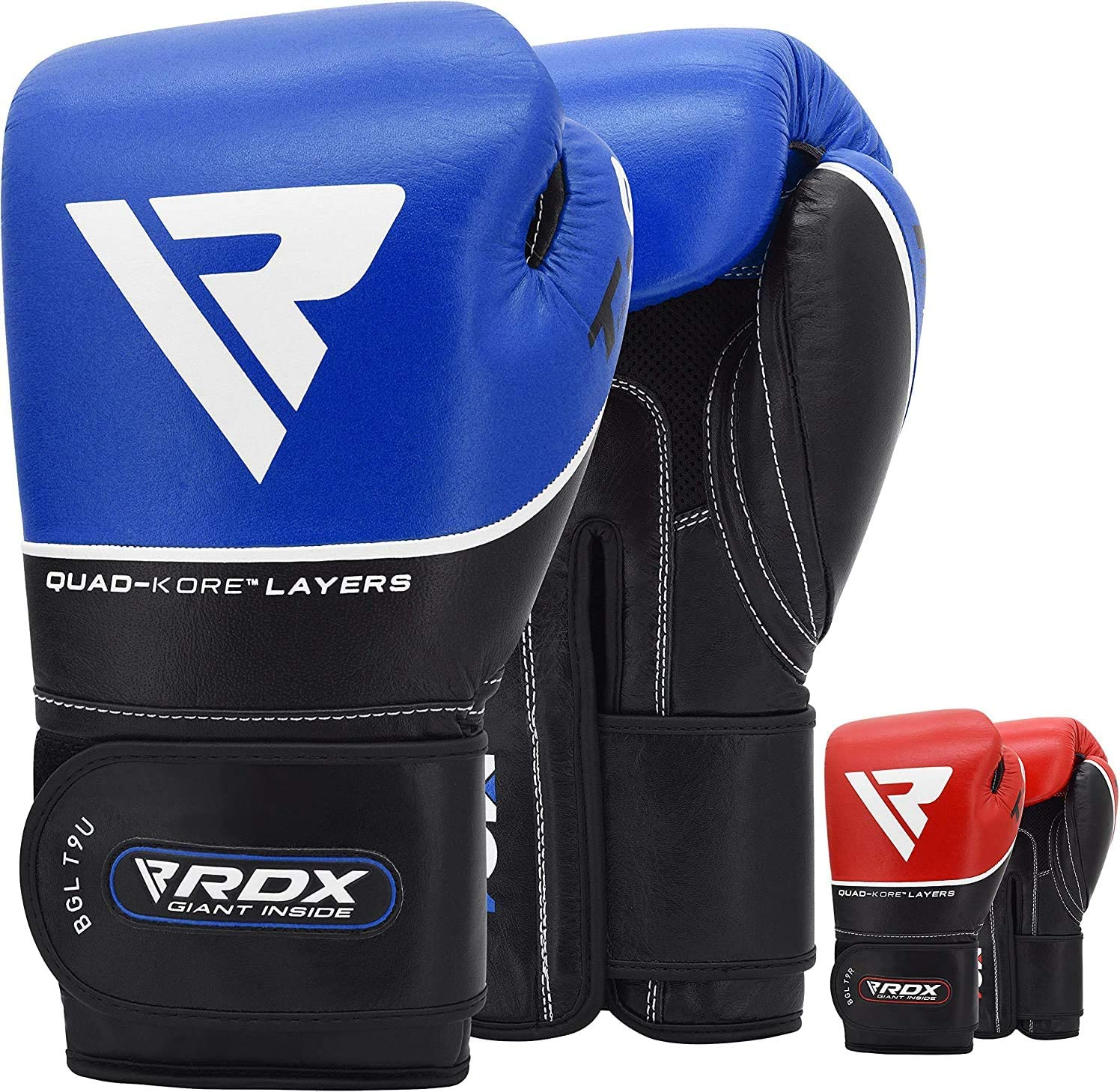 RDX S4 Leather Sparring Boxing Gloves 16oz *BRAND NEW*
