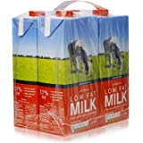 Spinneys Food Low Fat Milk - 4 x 1 Liter
