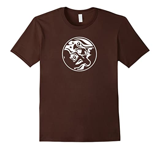 Mens Saxophone and Trumpet Duo Decorative Style T-shirt 2XL Brown
