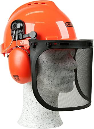 Oregon 562412 Yukon - Casco de seguridad con protector para cara ...