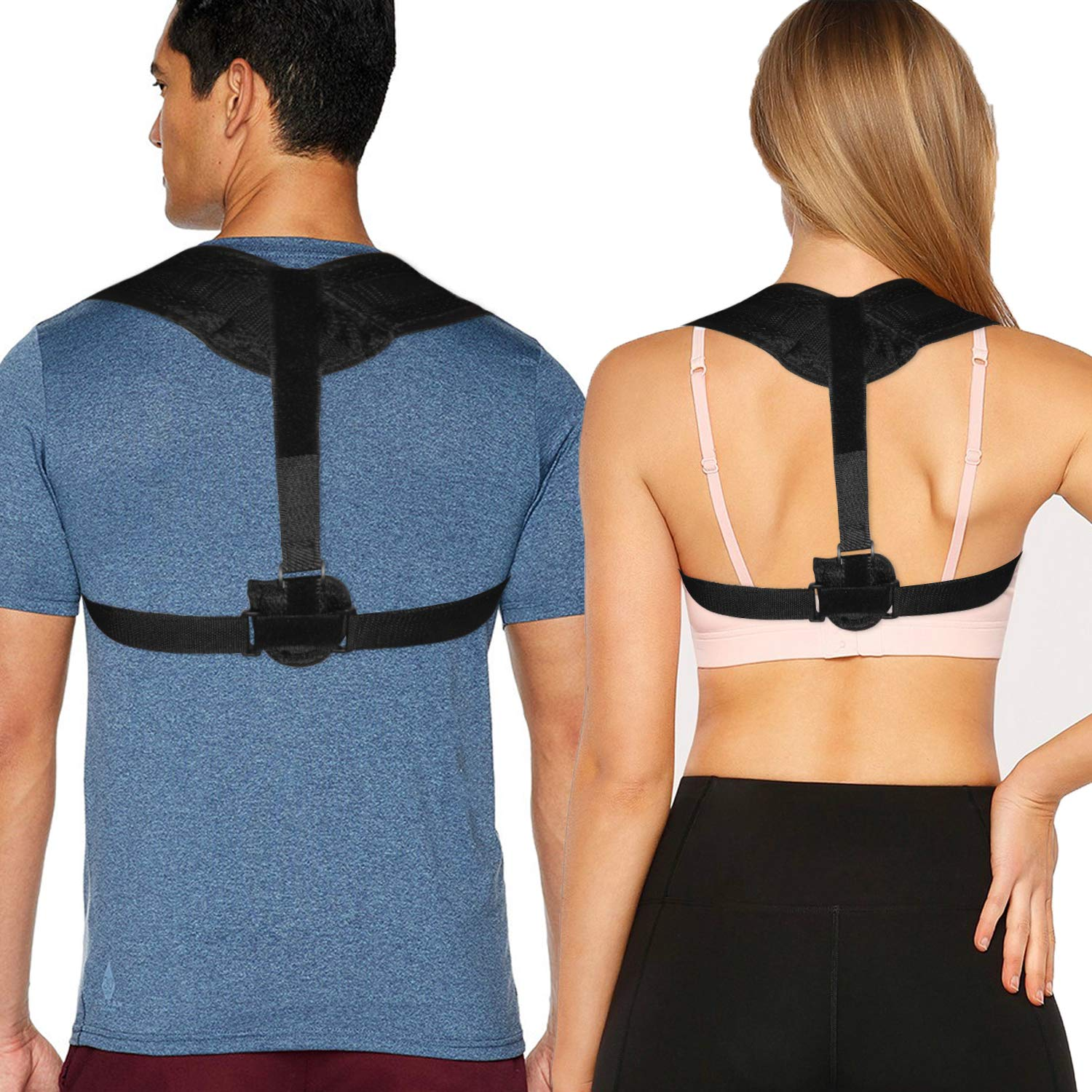 Back Posture Corrector for Women and Men - Upper Back Brace and Straightener - Back Brace Posture Corrector for Upright Posture Support