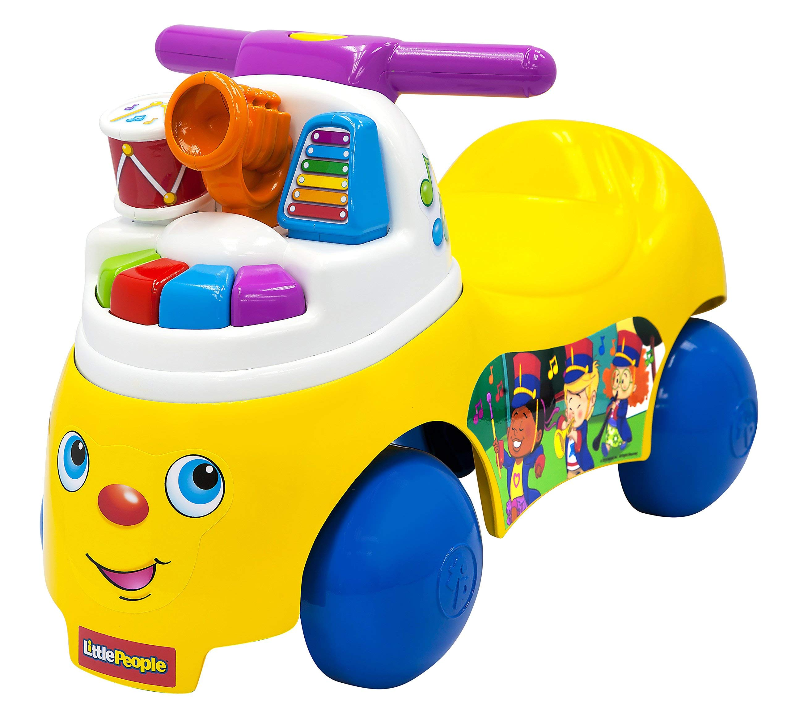 Fisher-Price Little People Melody Maker Ride-On [Amazon Exclusive] (Renewed)