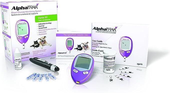 Zoetis Alphatrak Kit Sistema de monitoreo de glucosa 2 Blood: Amazon.es: Productos para mascotas