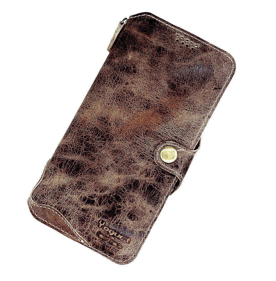 Funda de piel para teléfonos móviles Yogurt, funda de piel auténtica, funda de piel hecha a mano, cartera P20pro, compatible con Huawei P20 Pro: Amazon.es: ...