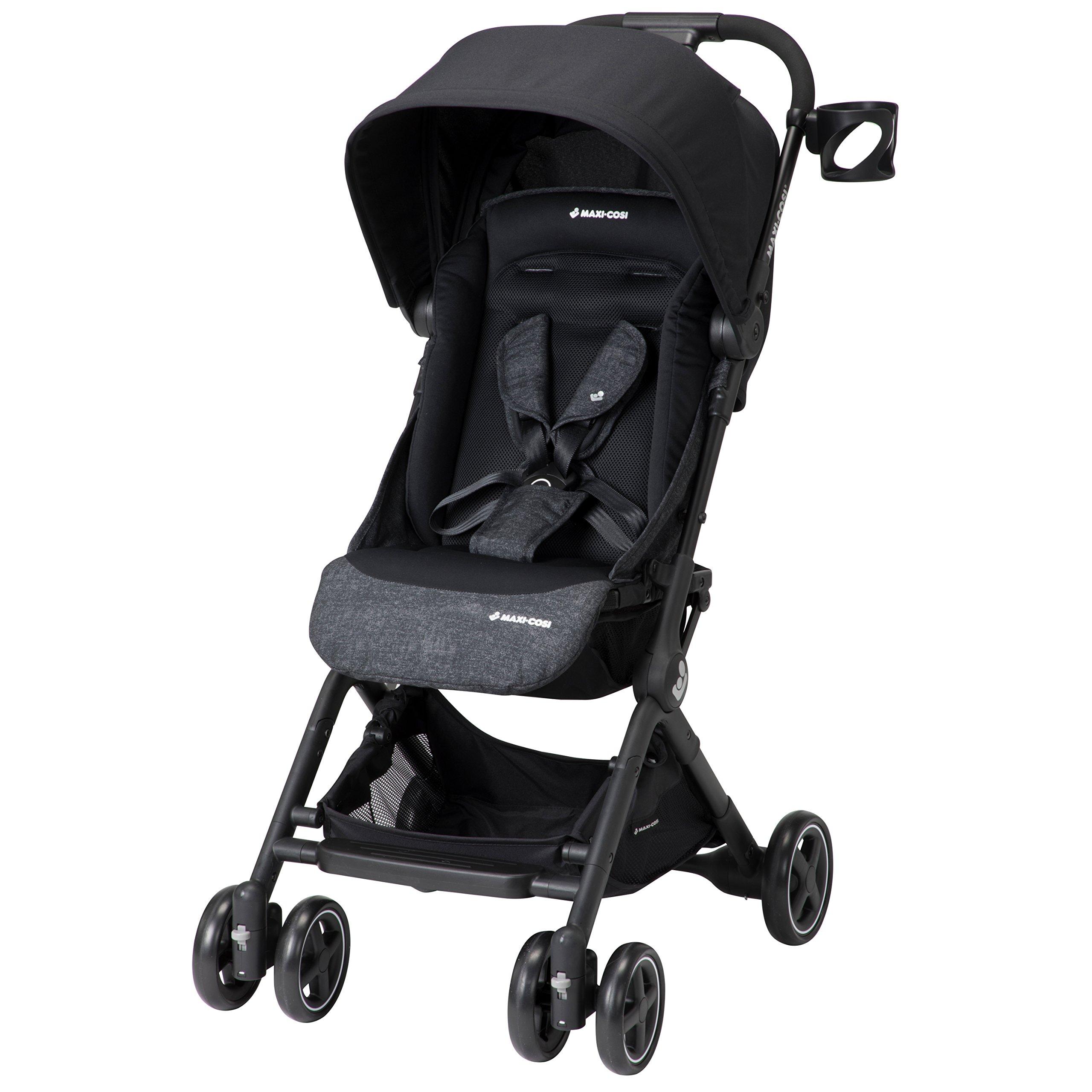 Maxi-Cosi Lara Lightweight Ultra Compact Stroller, Nomad Black, One Size