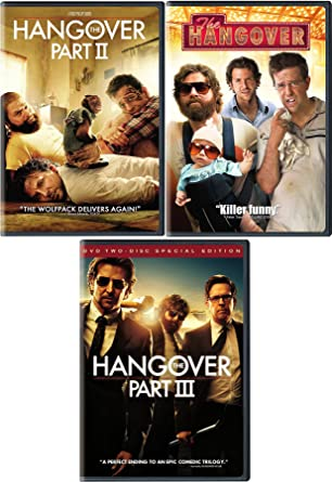 Amazon com: The Wolfpack Comedy Collection - Hangover 1/2/3 Trilogy