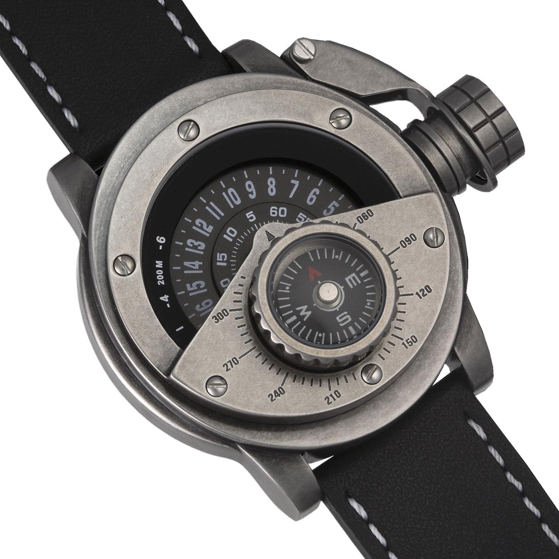 Kompassmodul Uhr mit - 24 Std. Anzeige - Retrowerk R004