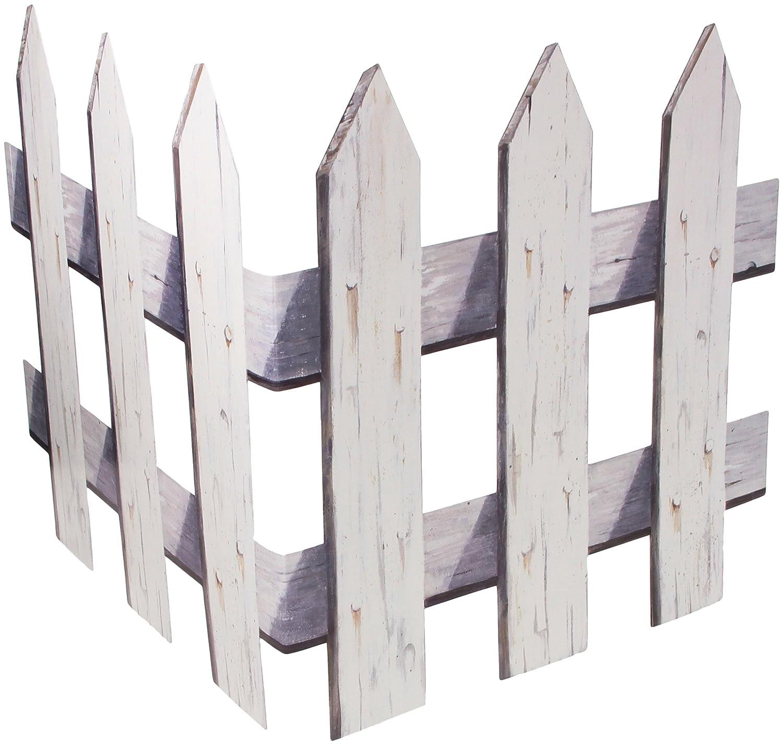 Amazon.com: Picket Fence Cutouts Party Accessory (1 count) (3/Pkg ...
