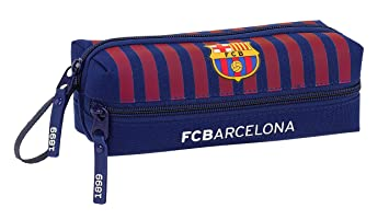 FC Barcelona Estuche portatodo Triple 3 Cremalleras Escolar ...