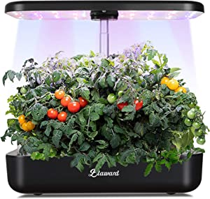 Blaward Hydroponics Growing System, Indoor Herb Garden Starter Kit with LED Grow Light, Smart Garden Planter for Home Kitchen, Automatic Timer Germination Kit, Height Adjustable (12 Pods)