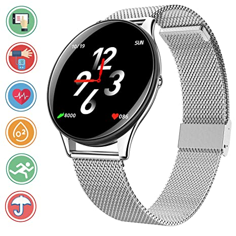 Smartwatch Mit Bluetooth Fitness Uhr Armbanduhr Herzfrequenz Remote Intelligente Überwachung Schlaftracker Schrittzähler Smart Watch TrackerSport txdCQsrh
