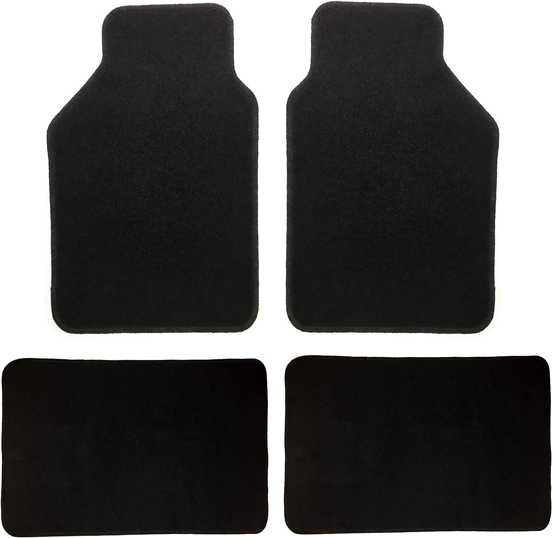 Matten in hochwertiger Ausf/ührung Autofu/ßmatten 4-TLG Autoteppiche Teppich universell Car Line Auto Fu/ßmatten Universal