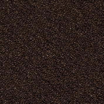 Dark Brown Carpet Feltback Hardwearing Berber Looped Pile