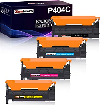 Zambrero Clt P404c Clt 404s Compatible Toner Replacement For Samsung Clt K404s Clt C404s Clt Y404s Clt M404s For Samsung Xpress Sl C480w C480fw C430w C430 C430 C480 C480 C480fn C480fn C480 3 W Bürobedarf Schreibwaren