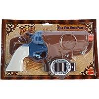 Smiffys 25207 Déguisement Adulte Pistolet à Eau Type Western, Bleu, Taille Unique