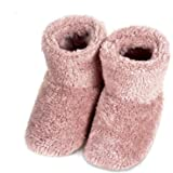 スリッパ 北欧 ル ームブーツ 暖かい もこもこ 可愛い 靴 おしゃれ あったか 防寒 ボアブーツ 静音 シューズ 【Mサイズ 22.5-24.5cm】洗濯可 室内履き用 男女兼用