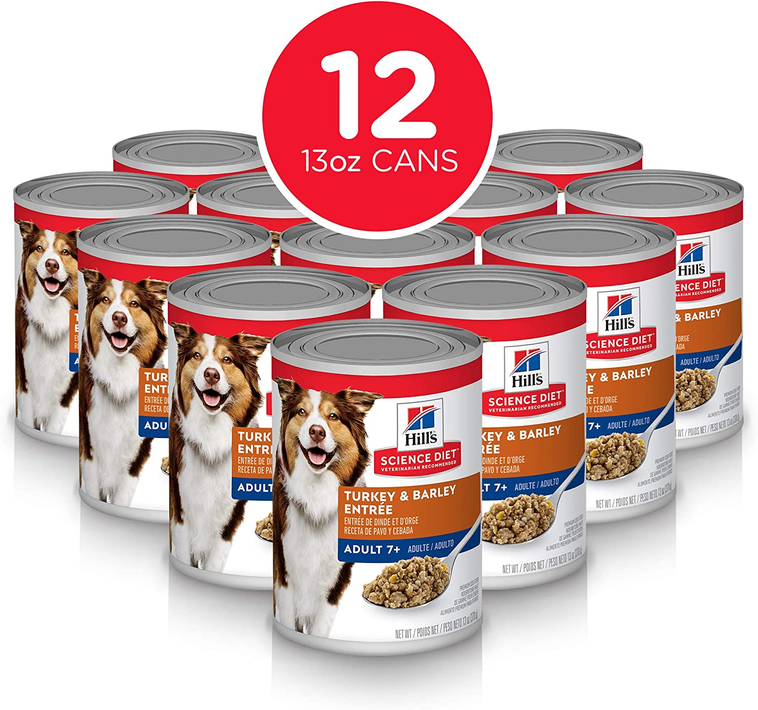 4. Hill's Science Diet Adult 7+ Canned Dog Food