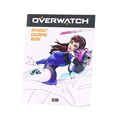UCC Distributing Inc Overwatch Adult Coloring Book Standard: Toys & Games