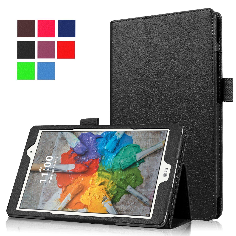 Asng LG G Pad X 8.0 / G Pad III 8.0 Case - Slim Folding Stand Cover Smart Case for LG G Pad X 8.0 (V521) / AT&T (V520) / LG G Pad III 8.0 (V525) 8-Inch Tablet (Black)