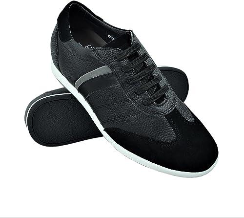 Zerimar Zapatos con Alzas Hombre 7 cm Zapatillas Hombre de Vestir Zapatos Hombre Casuales Zapatos Deportivos con Alzas Que Aumenta su Altura