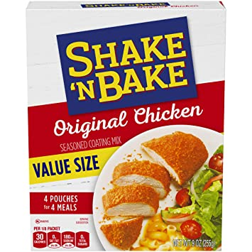 Amazon Kraft Shake N Bake Original Recipe Chicken Seasoned