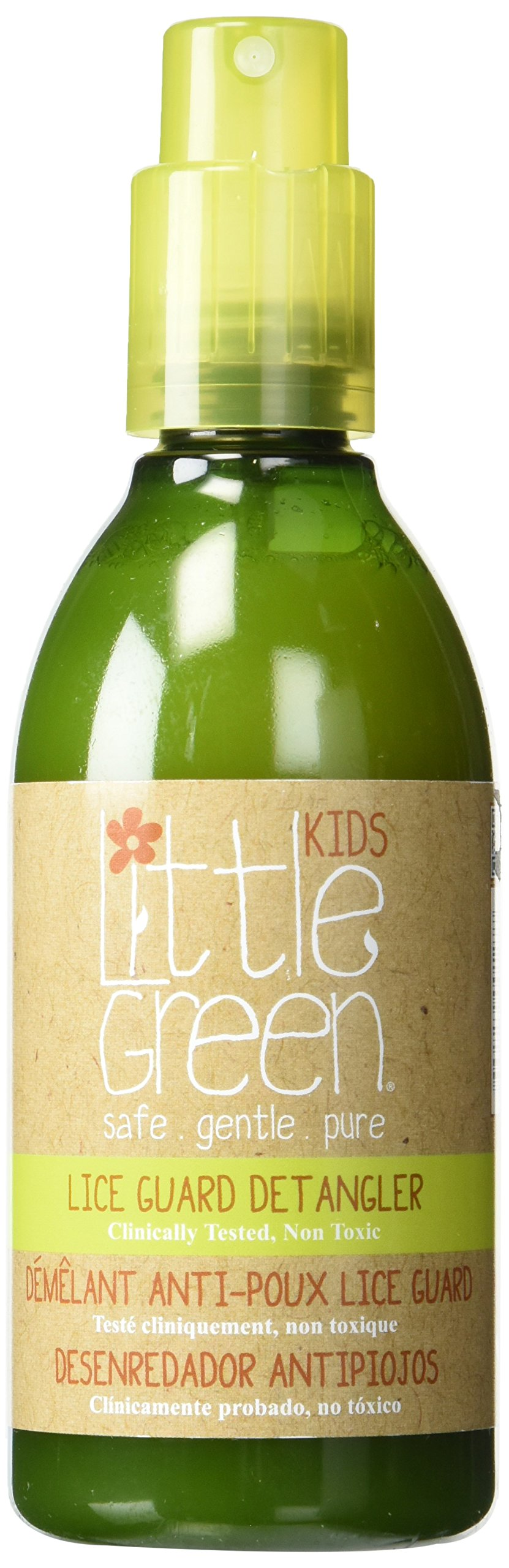Little Green Lice Guard Detangler Spray – Conditioning Lice Treatment – Safe and Non-Toxic for Kids – Natural Lice Repellant – Remove Tangles from Hair – Repels Lice Naturally – Essential Oil Blend